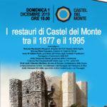 CASTEL DEL MONTE 1 dicembre 2019 presentazione arch. DiLiddo