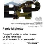 Seminario Paolo Mighetto_ Pompei tra intra ed extra moenia